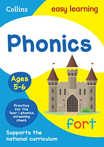 9780008134358: Collins Easy Learning Age 5-7 — Phonics Ages 5-6: New Edition