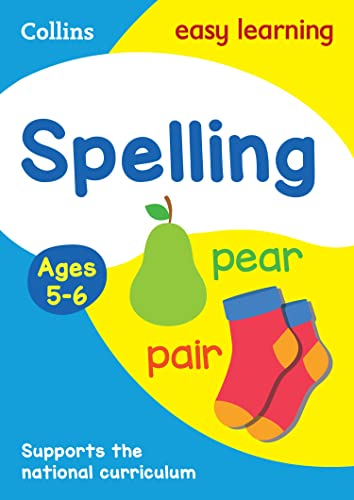 9780008134365: Collins Easy Learning Age 5-7 — Spelling Ages 5-6: New Edition