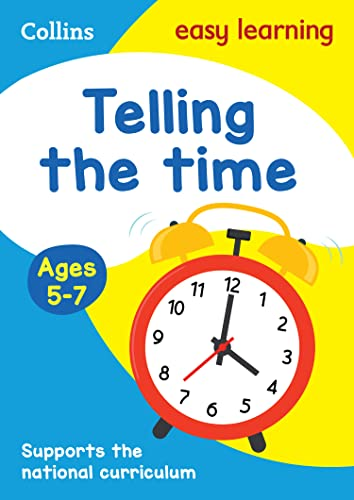 9780008134372: Collins Easy Learning Age 5-7 — Telling Time Ages 5-7: New Edition