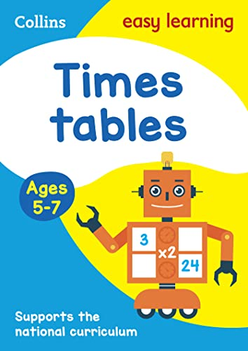 9780008134389: Collins Easy Learning Age 5-7 — Times Tables Ages 5-7: New Edition