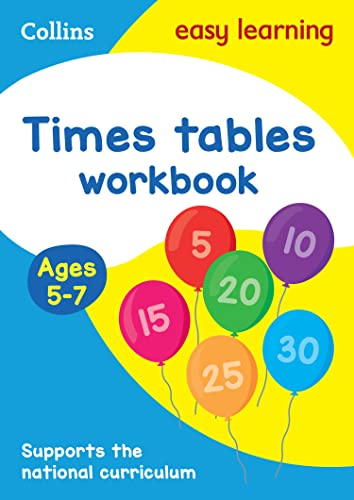 9780008134396: Collins Easy Learning KS1 - Times Tables Workbook Ages 5-7: New Edition