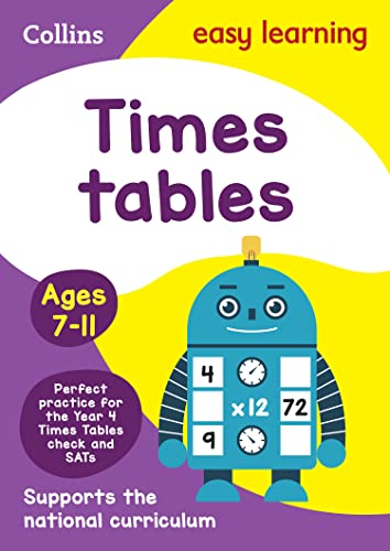 9780008134402: Collins Easy Learning Age 7-11 — Times Tables Ages 7-11: New Edition