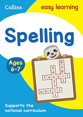 9780008134426: Collins Easy Learning KS1 - Spelling Ages 6-7: New Edition