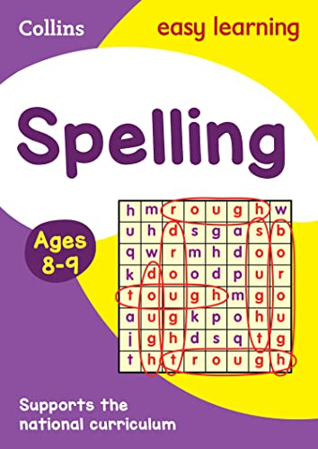 9780008134433: Spelling Ages 8-9: New Edition (Collins Easy Learning KS2)