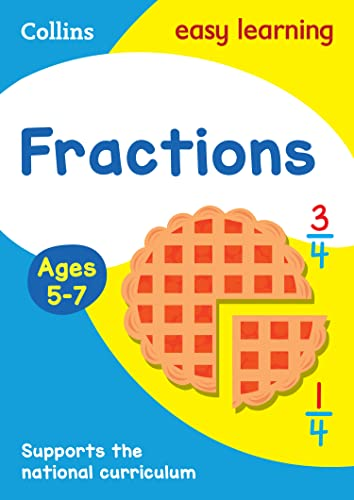 9780008134440: Collins Easy Learning Age 5-7 — Fractions Ages 5-7: New