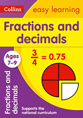 9780008134457: Fractions and Decimals Ages 7-9 (Collins Easy Learning KS2)