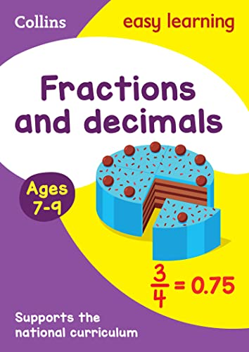 9780008134457: Collins Easy Learning Age 7-11 � Fractions and Decimals Ages 7-9: New Edition