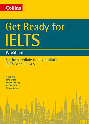 9780008135669: Get Ready for IELTS: Workbook: IELTS 3.5+ (A2+) (Collins English for IELTS)