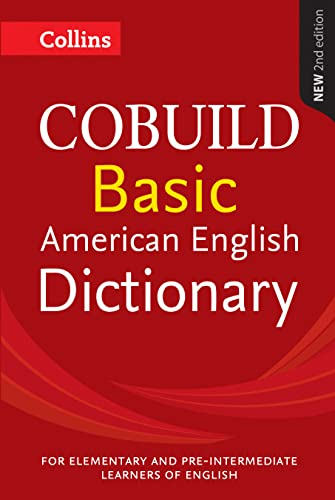9780008135799: Collins COBUILD Basic American Dictionary