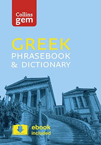 9780008135898: Collins Gem Greek Phrasebook & Dictionary