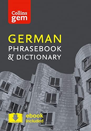 9780008135966: Collins Gem German Phrasebook & Dictionary