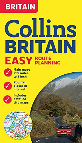 9780008136062: Collins Britain Easy Route Planning Map