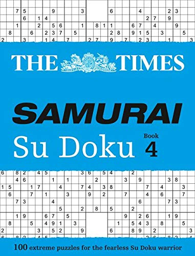 9780008136406: The Times Samurai Su Doku Book 4