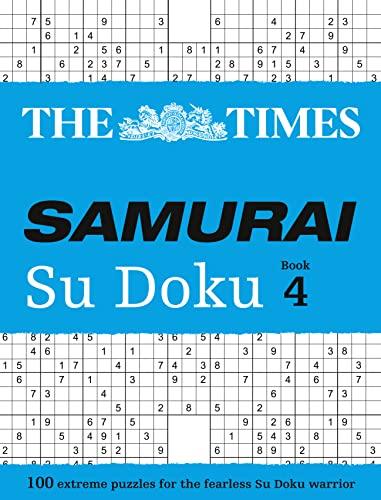 9780008136406: The Times Samurai Su Doku Book 4