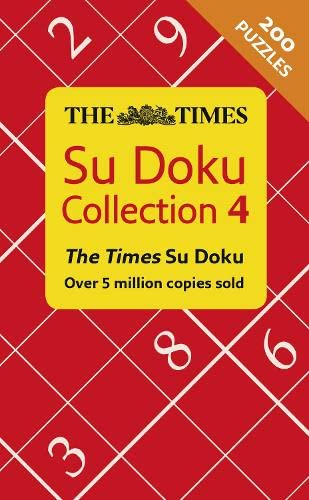 9780008136413: The Times Su Doku Collection 4
