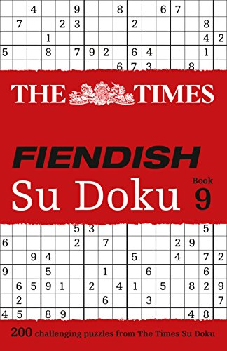 9780008136437: The Times Fiendish Su Doku Book 9