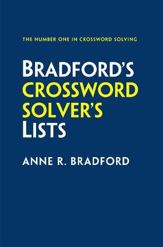 9780008136451: Collins Bradford's Crossword Solver's Lists