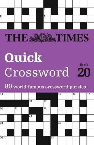 9780008136468: The Times Quick Crossword Book 20: 80 General Knowledge Puzzles From The Times 2