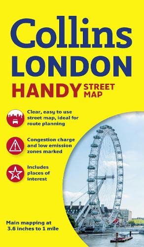 9780008136642: Collins Handy Street Map London