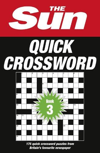 9780008137274: The Sun Quick Crossword Book 3