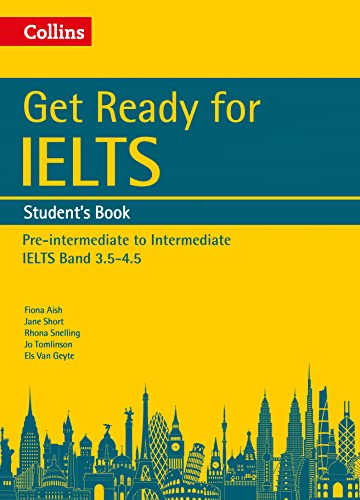 9780008139179: Collins English for IELTS – Get Ready for IELTS: Student's Book: IELTS 4+ (A2+)