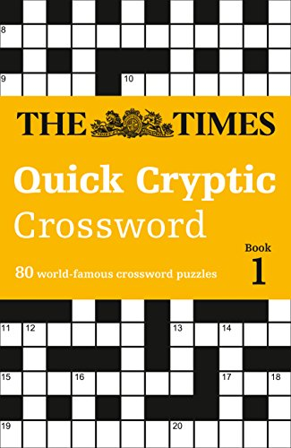 9780008139810 The Times Quick Cryptic Crossword Book 1 80 Challenging Crosswords From