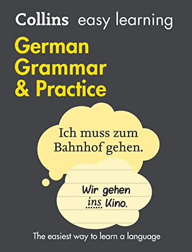 9780008141653: Collins Easy Learning German – Easy Learning German Grammar and Practice