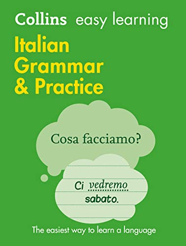 9780008141660: Easy Learning Italian Grammar and Practice (Collins Easy Learning Italian)