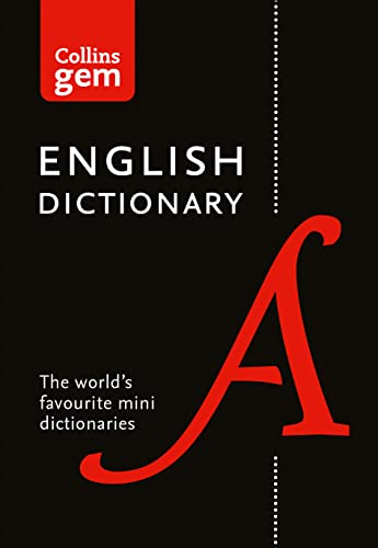 9780008141677: Collins English Dictionary Gem Edition: 85,000 words in a mini format (Collins Gem)