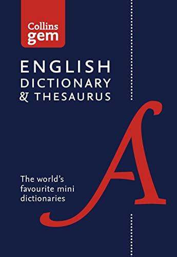 9780008141714: Collins Gem – Collins Gem Dictionary and Thesaurus