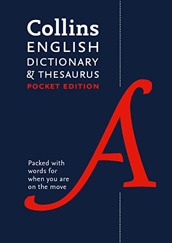 9780008141790: Collins English Dictionary and Thesaurus (Collins Pocket)