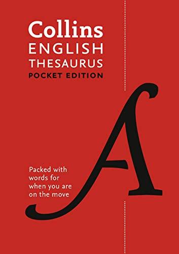 9780008141820: Collins Pocket – Collins English Thesaurus: Pocket edition