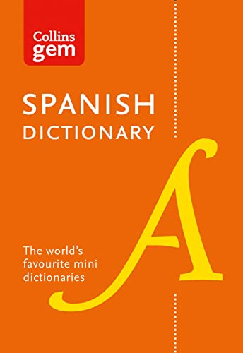 9780008141844: Collins Spanish Dictionary Gem Edition: 40,000 words and phrases in a mini format (Collins Gem)