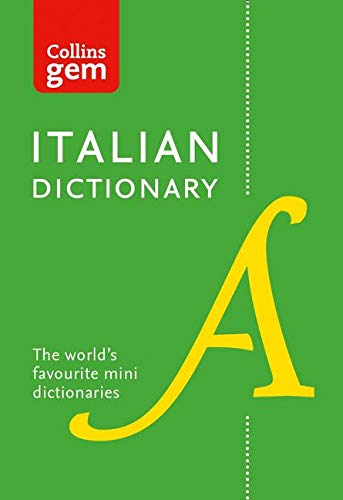 9780008141851: Collins Italian Dictionary Gem Edition: 40,000 words and phrases in a mini format (Collins Gem)