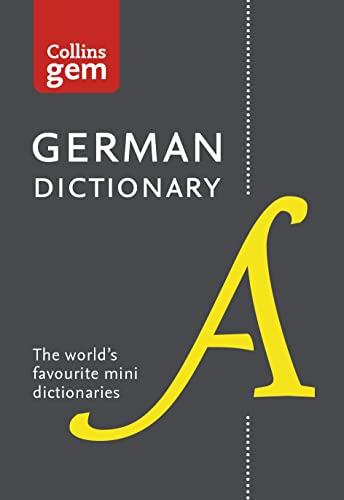 9780008141868: Collins Gem German Dictionary