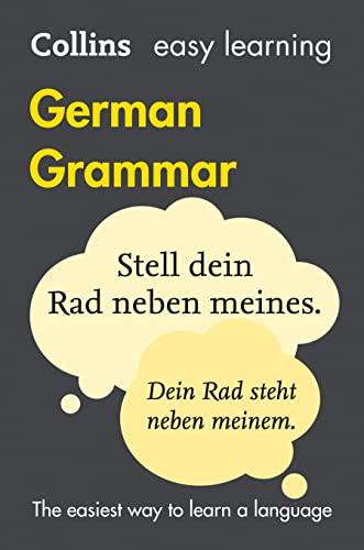 9780008142001: Easy Learning German Grammar (Collins Easy Learning German)