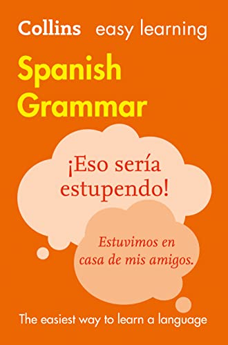 9780008142018: Easy Learning Spanish Grammar (Collins Easy Learning Spanish)