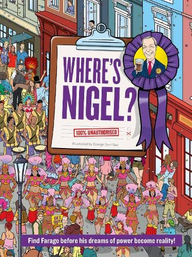 9780008142124: Where's Nigel?: Find Farage before his dreams of power become reality