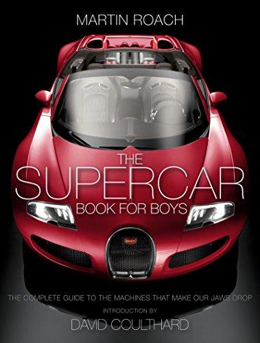 The Supercar Book for Boys: Roach, Martin