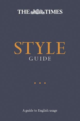 9780008146177: The Times Style Guide