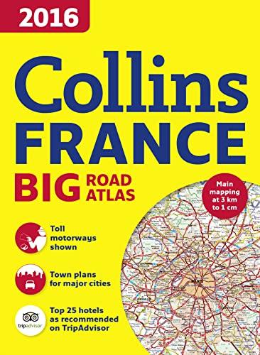 9780008146580: 2016 Collins France Big Road Atlas