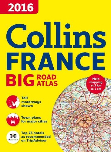 9780008146580: 2016 Collins France Big Road Atlas