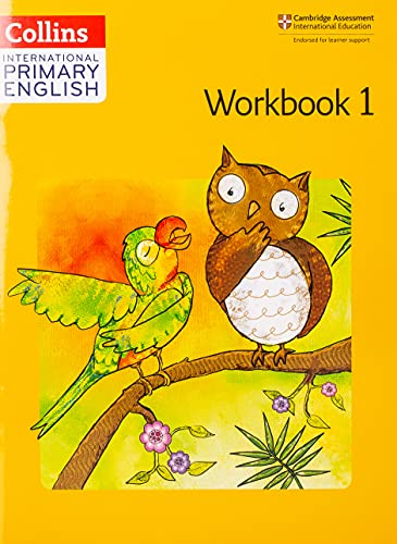 9780008147617: Collins International Primary English – Cambridge Primary English Workbook 1