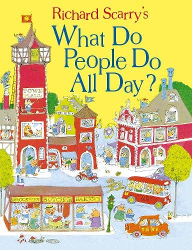 9780008147822: What Do People Do All Day? (Scarry)