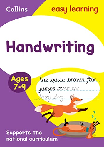 9780008151423: Handwriting Ages 7-9: New edition (Collins Easy Learning KS2)