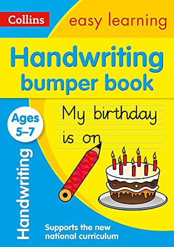 9780008151478: Collins Easy Learning KS1 - Handwriting Bumper Book Ages 5-7