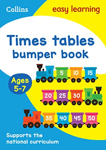 9780008151485: Times Tables Bumper Book: Ages 5-7 (Collins Easy Learning KS1)