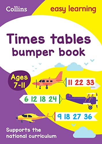 9780008151492: Collins Easy Learning KS2 - Times Tables Bumper Book Ages 7-11