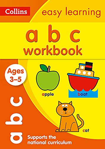 9780008151515: Collins Easy Learning Preschool - ABC Workbook Ages 3-5: New Edition