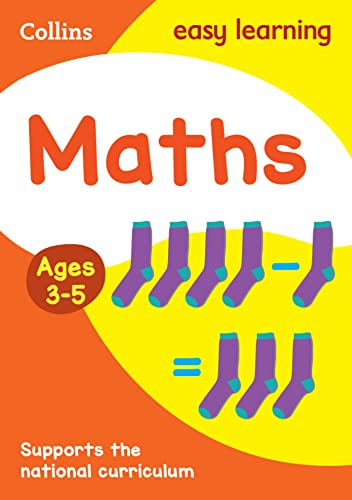 9780008151539: Maths Ages: Ages 4-5 (Collins Easy Learning Preschool)